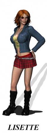 Virtual date Girls: Lisette
