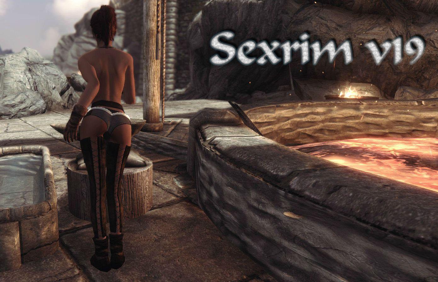 Секс видео skyrim мысль